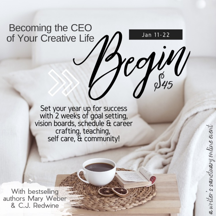 Begin: Becoming the CEO of your creative life, a virtual two week retreat.