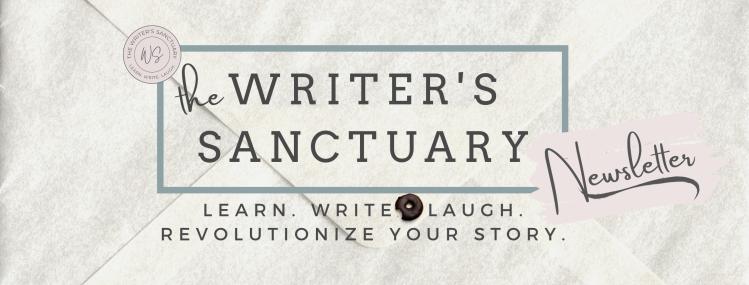 Writer's Sanctuary Newsletter Header