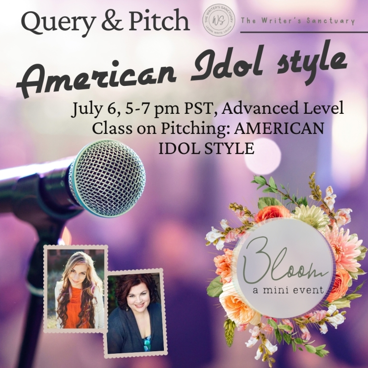 An advanced level course on pitching and querying with an American Idol style on-the-spot query critique forum.