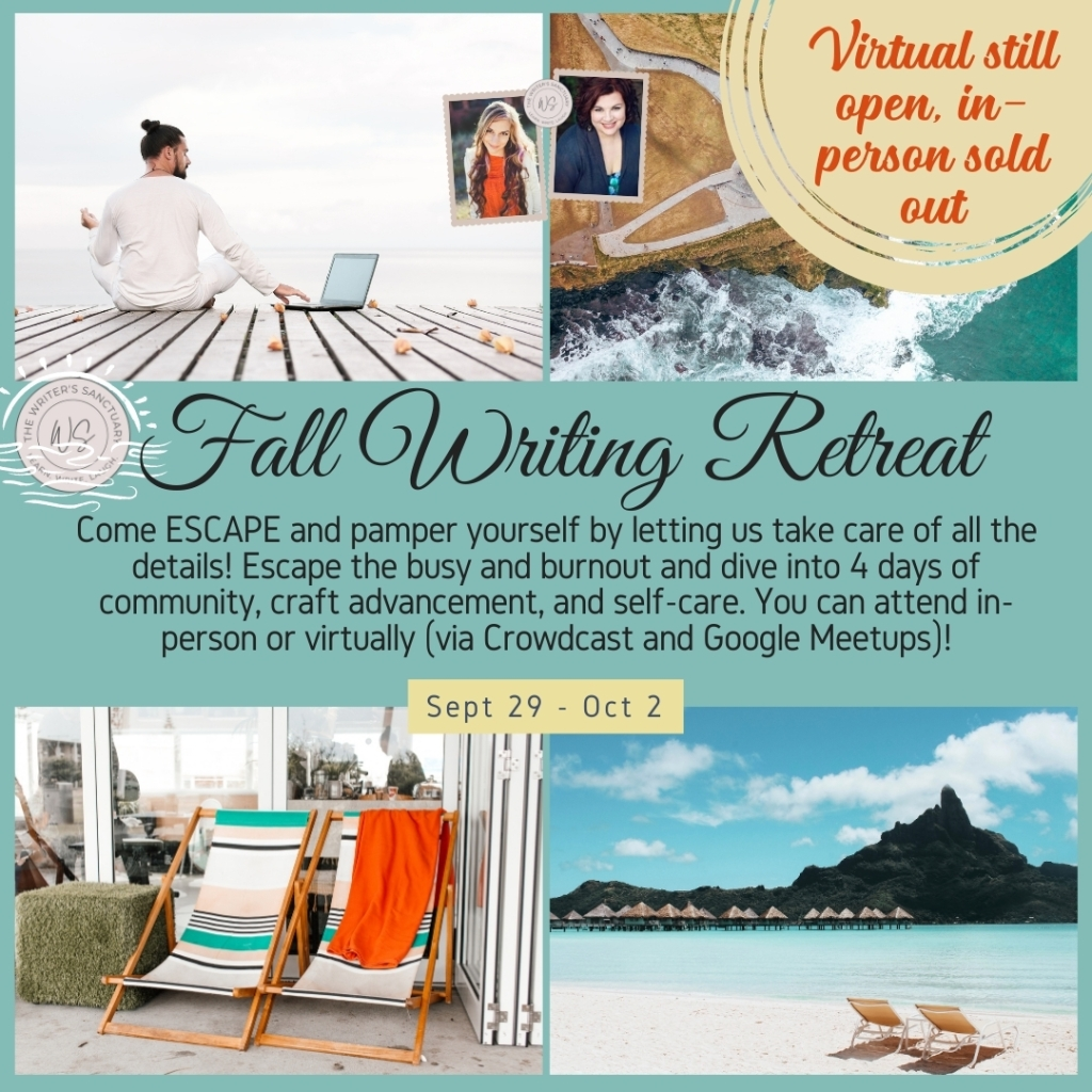 Virtual fall writing retreat
